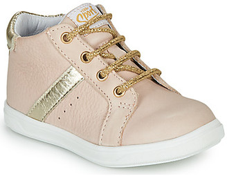 GBB AGLAE girls's Shoes (High-top Trainers) in Pink