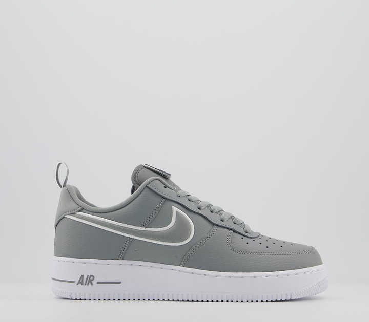 Nike Force 1 07 Trainers Tracksuit Pack Grey