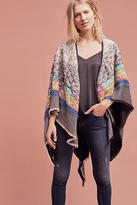 Anthropologie City Lights Quilted Kimono
