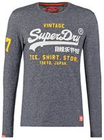 Superdry Long Sleeved Top Nautical Navy Grit