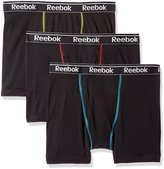 Reebok Men's Gift Box: 3pk Cotton Boxer Brief (Fly)
