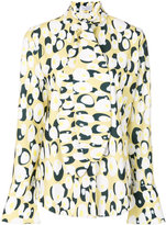 Ioana Ciolacu blouse with egg design