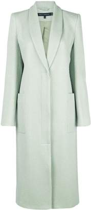 Sally LaPointe single-breasted shawl-lapel coat