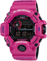 G-Shock Men's Digital Rangeman Dark Pink Bracelet Watch 58x52mm GW9400SRJ-4