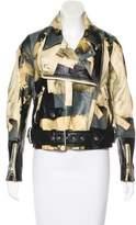 Acne Studios Merci Leather Jacket