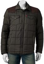 Levi's Men's Quilted Western-Shirt Style Jacket