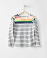 Hanna Andersson Breton Rainbow Top