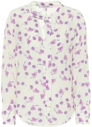 Dorothee Schumacher Radiant Leaves silk-blend blouse