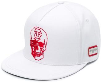 Philipp Plein Skull Logo Baseball Cap