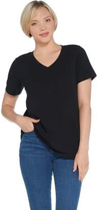 Linea By Louis Dell'olio Leisure by Louis Dell'Olio V-Neck Stretch Tee