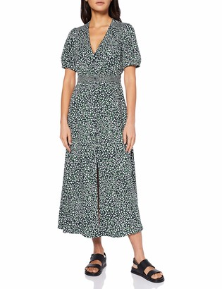 French Connection Women's CADE Drape Business Casual Dress