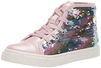 Children's Place The Girls' High Top Flip Fashion Sneaker