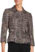 Ivanka Trump Tweed Blazer