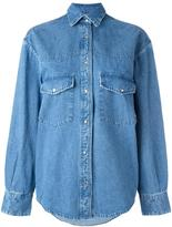 Golden Goose Deluxe Brand classic denim shirt - women - Cotton - S