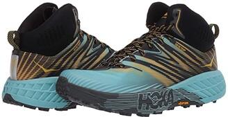 Hoka One One Speedgoat Mid 2 GTX (Antigua Sand/Golden Rod) Women's Shoes