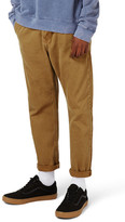 Topman Twill Crop Tapered Fit Trousers