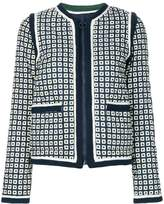 Tory Burch Petra Milano square jacket