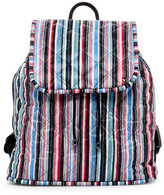 Le Sport Sac Beverly Stripe Quilted Backpack