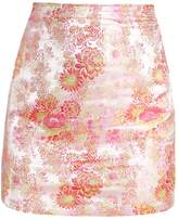 New Look FLURO ORIENTAL Mini skirt nude