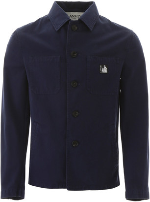 Lanvin Jacket With Logo Patch