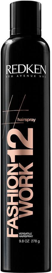 Redken Fashion Work 12 Hairspray - 9.8 oz.
