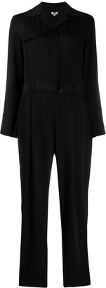 Kenzo Belted Long Sleeved Jumpsuit