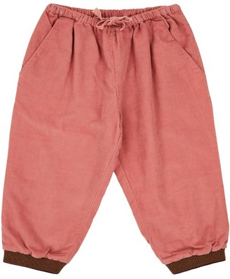 Caramel Cotton Drawstring Trousers (8-12 Years)