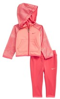 Nike Infant Girl's Hoodie & Pants Set