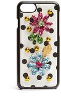Dolce & Gabbana Polka-dot crystal-embellished iPhone® 6 case