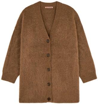 Acne Studios Kinbar Brown Knitted Cardigan