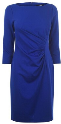 DKNY Occasion Ruched Ponte Dress
