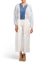 Juniors Embroidered Bed Jacket