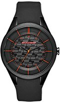 Skechers Women's 'Basic Strap' Quartz Plastic and Silicone Casual Watch, Color:Black (Model: SR6121)