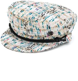 Maison Michel Tweed Sailor Hat