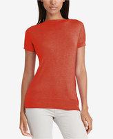 Lauren Ralph Lauren Cap-Sleeve Sweater