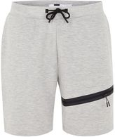 Topman Grey Tech Jersey Shorts