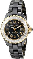 Swiss Legend Women's 10051-BKBGR Karamica Analog Display Swiss Quartz Black Watch