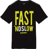 Diesel Fast 'nd Slow cotton t-shirt 6-16 years