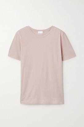 HANDVAERK Pima Cotton-jersey T-shirt - Pink
