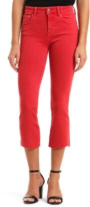 Mavi Jeans Anika High Waist Crop Flare Jeans