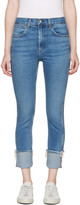 Rag & Bone Blue Lou Skinny Jeans