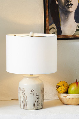 Anthropologie Roslyn Table Lamp By in White Size S