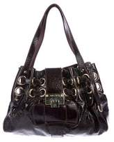 Jimmy Choo Leather Riki Bag