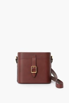 Officina Del Poggio Leather Safari Bag