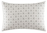 Vera Wang Geometric Stitched Squares Decorative Pillow, 15 x 22