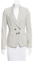 Paul & Joe Polka Dot Double-Breasted Blazer