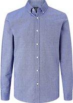 John Lewis Long Sleeve Oxford Shirt, Blue
