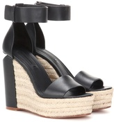 Alexander Wang Aurora leather wedges