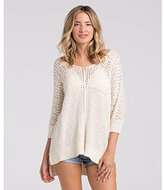 Billabong Junior's Stitches Over You Oversized Pullover Sweater