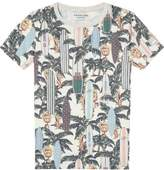 Scotch & Soda Tropical Print T-Shirt | The Pool Side